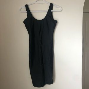 American Apparel Spandex Black Dress